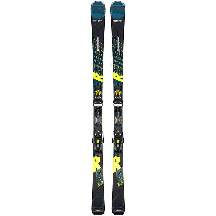 Skis React R8 HP + fixation NX 12 GW [2020]