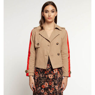 Women's Cropped Trench Jacket