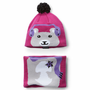 Kids' [2-4] Snow More™ Hat + Gaiter Two-Piece Set