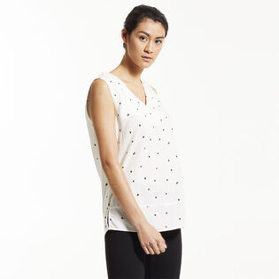 Women's Vee Sleeveless Top