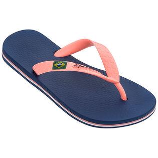 Juniors' [10-7] Classic Brazil Flip Flop Sandal