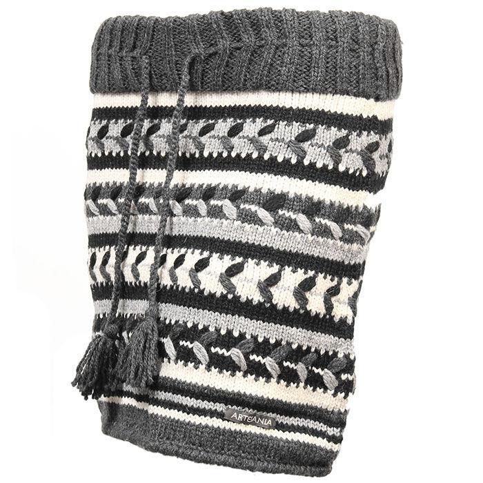 Jupe en laine à motif pour femmes