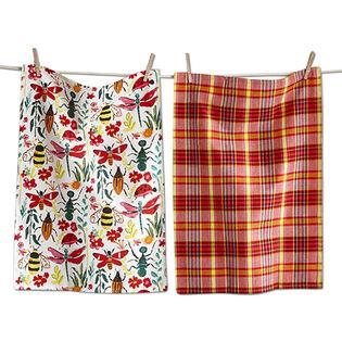 Love Bugs Dishtowel Set (2 Pack)