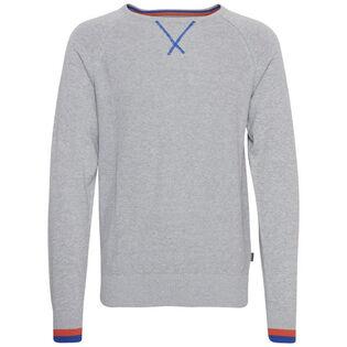 Men's Contrast Crew Sweater