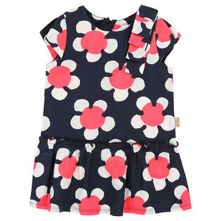 Baby Girls' [3-12M] Floral Print Daisy Dress
