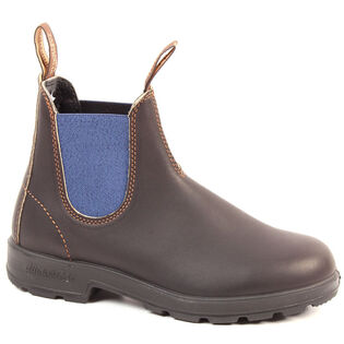 #578 Original 500 Boot In Stout Brown With Blue Elastic