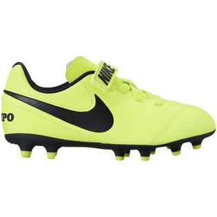 Kids' [11-3] Tiempo Rio III Firm Ground Soccer Cleat