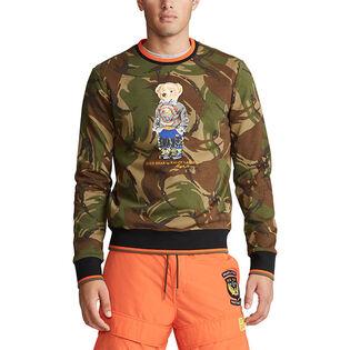 Men's Polo Bear Camo Sweatshirt