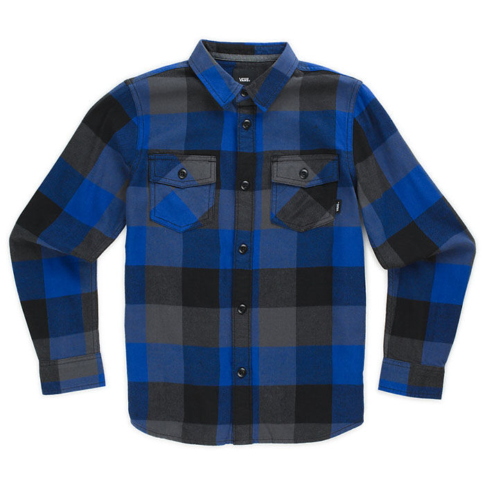 Junior Boys' [8-16] Box Flannel Shirt