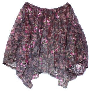 Junior Girls' [7-14] Floral Skirt