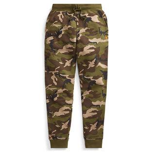 Junior Boys' [8-20] Camo Print Fleece Jogger Pant