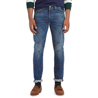Men's Sullivan Slim Embroidered Jean