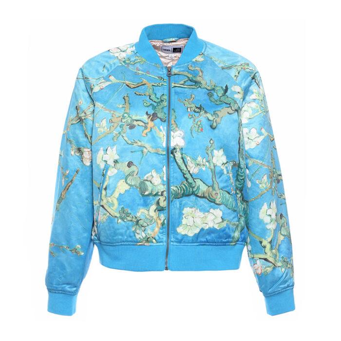 8ed49d13fa6 Women s Vincent Van Gogh Almond Blossom Bomber Jacket