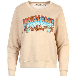 Women's Floral Logo Graphic Sweatshirt