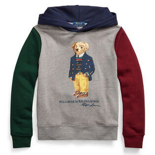 Junior Boys' [8-20] Polo Bear Colourblocked Fleece Hoodie