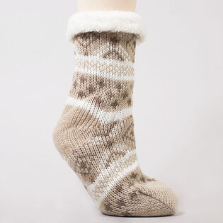 Women's Fairsle Slipper Sock