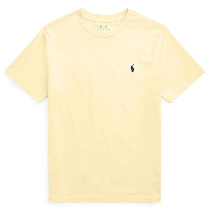 T-shirt à col rond en jersey de coton pour garçons juniors [8-20]