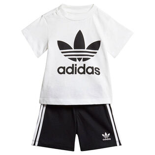 Babies' [6-24M] Trefoil Tee + Short Two-Piece Set