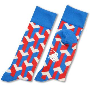 Men's Illusionist Crew Sock