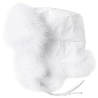 Women's Dyed Fur Trapper Hat
