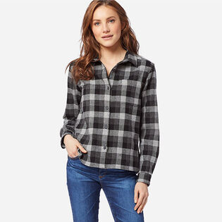Women's Cropped Lodge Shirt