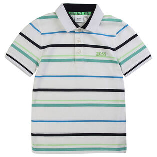 Junior Boys' [4-16] Striped Polo