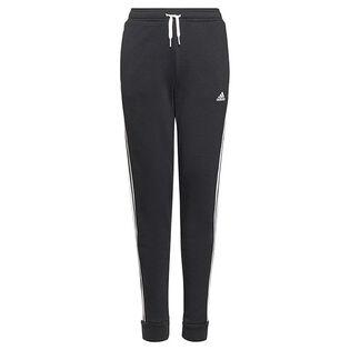 Pantalon Essentials 3-Stripes en tissu bouclette pour filles juniors [8-16]