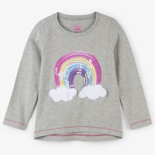 Girls' [2-6] Retro Rainbow T-Shirt
