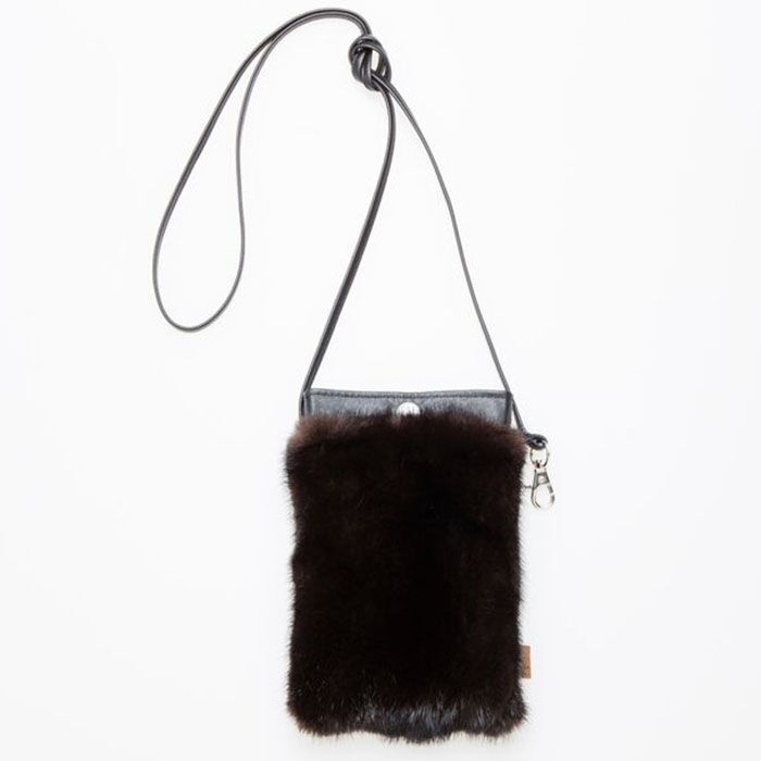 Women's Phone Pocket Leather Bag