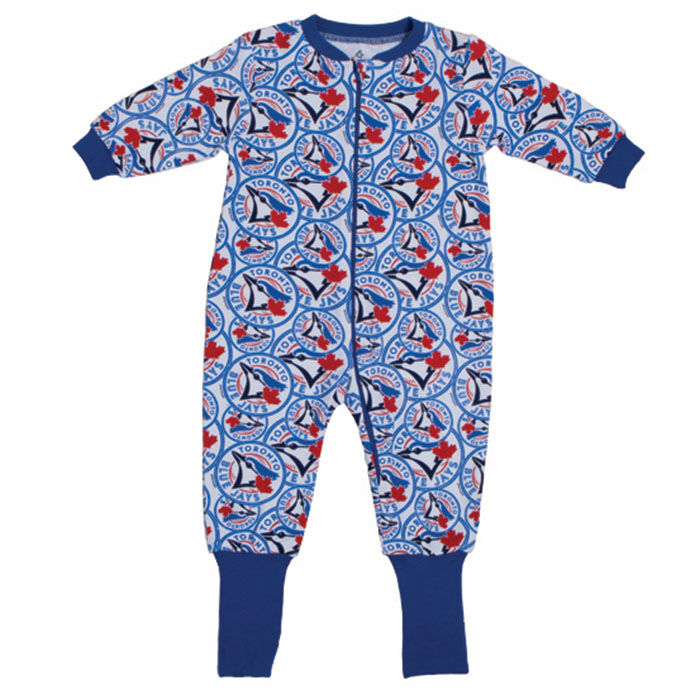 Babies' [6-24M] Blue Jays Convert-A-Foot Sleeper