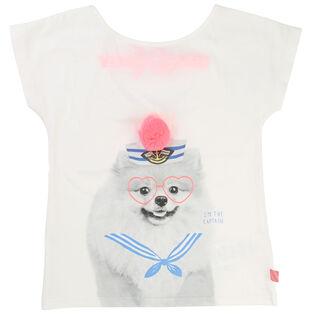Girls' [2-6] Sailor Dog T-Shirt
