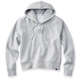 Women's Cropped Fleece Hoodie