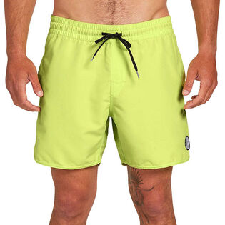 Men's Lido Solid Swim Trunk
