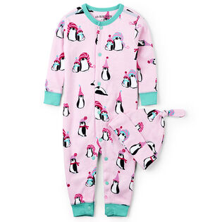 Baby Girls' [3-24M] Winter Penguins Coverall