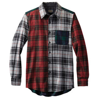 Men's Mixed Plaid Shirt