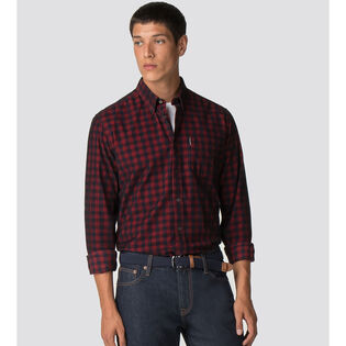 Men's Cord Gingham Shirt