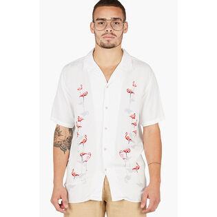 Men's Holiday Camp-Collar Shirt
