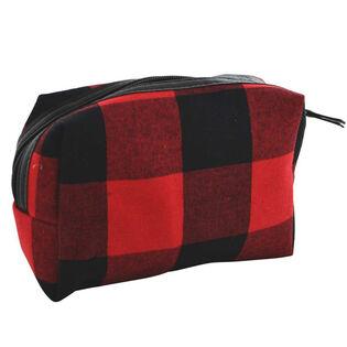 Buffalo Check Pouch Bag