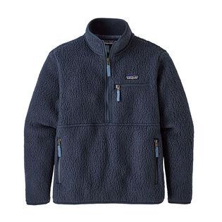 Women's Retro Pile Fleece Marsupial Jacket
