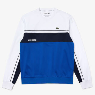 Men's Resistant Colourblock Pique Crew Sweatshirt