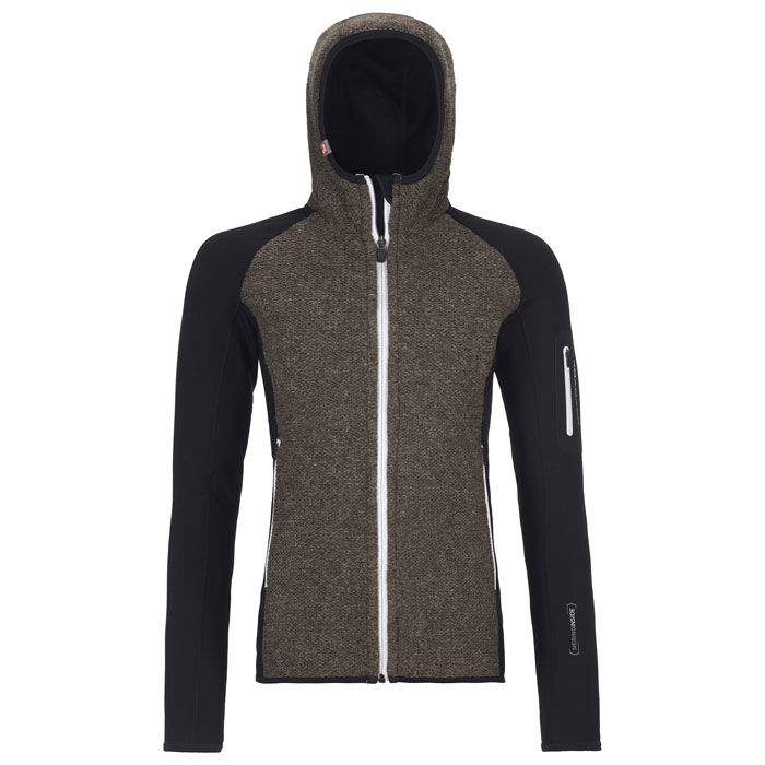 Women's Fleece Plus Classic Knit Hoody Jacket