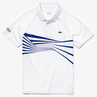 Men's Novak Djokovic Stripe Polo
