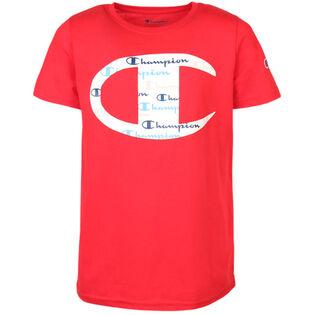 T-shirt C Script Logo pour garçons juniors [8-16]
