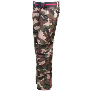 Pantalon isolant camo avec appliqués pour femmes