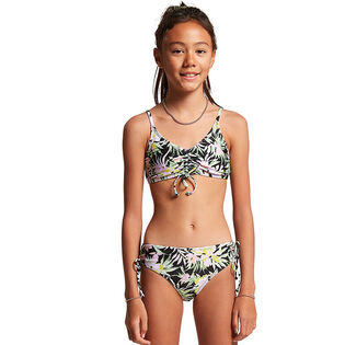 Junior Girls' [6-14] On Tropic Crop Two-Piece Bikini