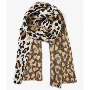 Women's Leopard Scarf
