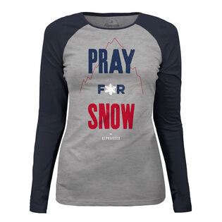 Women's Pray For Snow T-Shirt