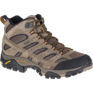 Men's Moab 2 Mid Waterproof Boot (Wide)