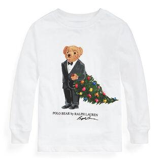 Boys' [5-7] Christmas Tree Bear Cotton Jersey T-Shirt