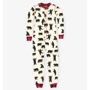 Kids' [2-6] Black Bear Union Suit